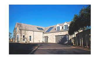 Self build house in the Cotswolds