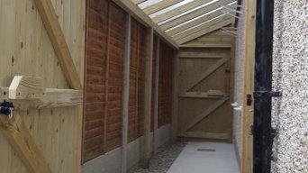 Side Passageway Entrance Side Alleyway Enclosure