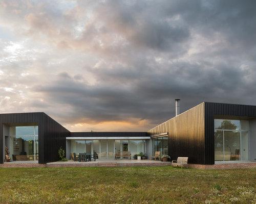 Casa container foto e idee houzz for Idee piano piano per la costruzione di una casa
