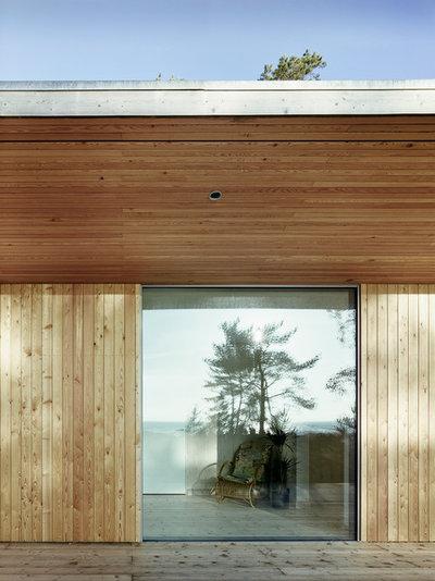 Modern Fasad by Johan Sundberg Arkitektur