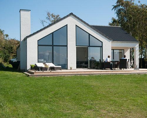 skandinavisches haus und fassade ideen f r die fassadengestaltung. Black Bedroom Furniture Sets. Home Design Ideas