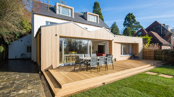 Stamford Road timber clad extension