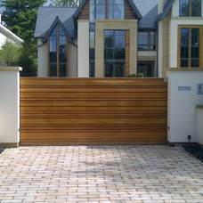 Contemporary Exterior by Lakes Garage Doors