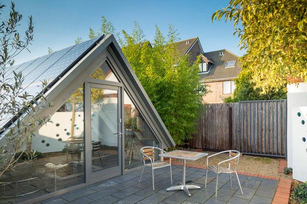 Contemporary Exterior by Walk Interior Architecture & Design