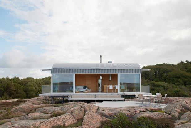Contemporary Fasad by Fahlander Arkitekter