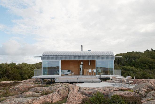 Contemporary Fasad by Arkitekt Mats Fahlander