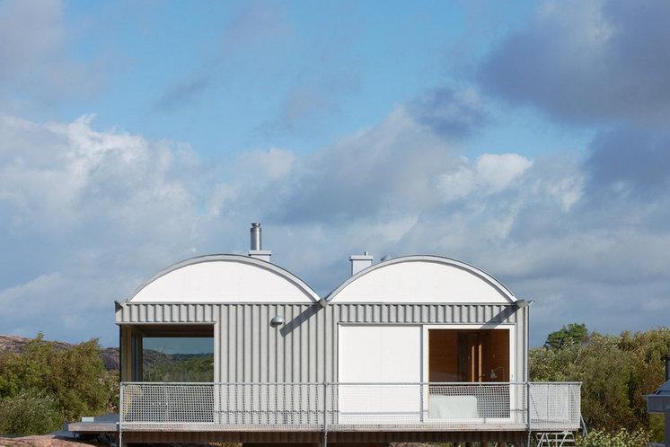 Современный Фасад by Arkitekt Mats Fahlander