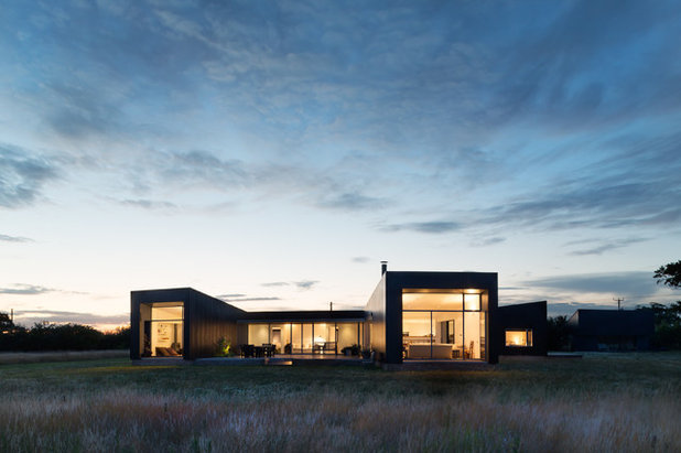 Contemporary Exterior by Paul Craig Photography