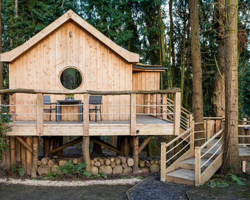 Cottage inglese foto e idee houzz for Piani cottage di 500 m