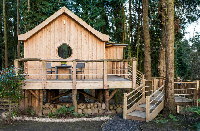 Rustic Exterior by Matthew Heritage Interior Photographer