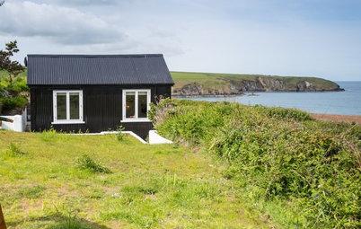 Houzzbesuch: Eine alte Hütte wird zum urgemütlichen Strandhaus