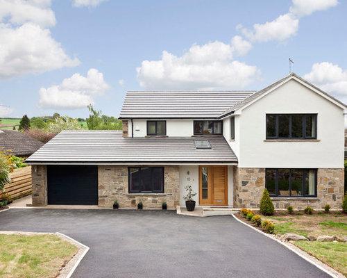 Modern house exterior houzz - Modern home exteriors ...