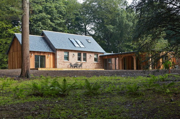 Country Exterior by Architects Scotland Ltd.