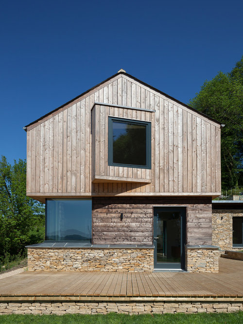 Casa solare passiva foto e idee houzz for Piani casa tetto a capanna