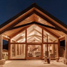 Contemporary Exterior by van Ellen + Sheryn Architects