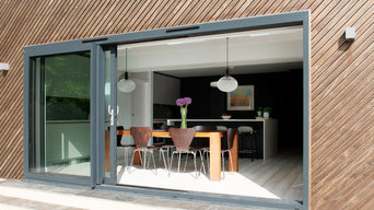 Timber Clad Kitchen Extension in Chichester