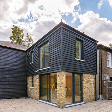 Timber Clad Two Storey Rear Extension