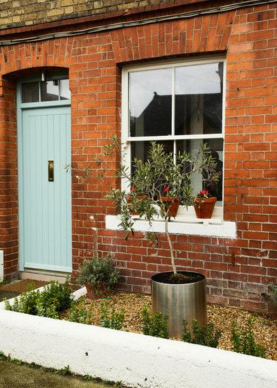 Farmhouse Exterior by houseology