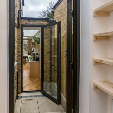 Victorian House in Camberwell, London - through door to yard and kitchen