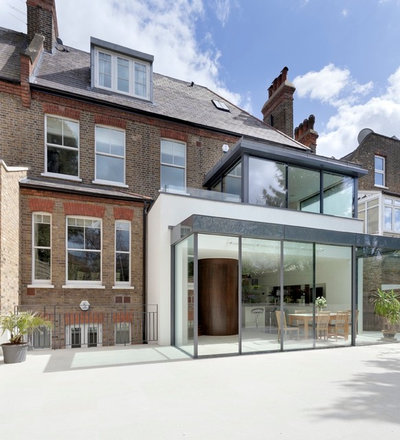 Contemporary outside by STEPHEN FLETCHER ARCHITECTS