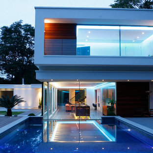 Contemporary exterior in London.