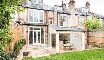 Whole property garden view, loft and kitchen extension, landscaping