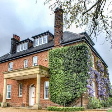 Windows and wisteria - St Albans