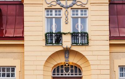 Houzz Швеция: Рождество на старой вилле