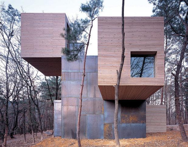 コンテンポラリー 家の外観 by Rintala Eggertsson Architects