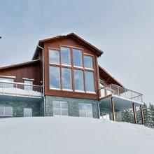 Houzz Tour: Rustikt drømmehus midt i de smukke fjelde
