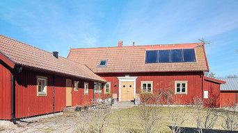 Genuint och vackert drömhus med fri utsikt mot Kalmarsund