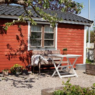 Idéer för att renovera ett lantligt rött hus