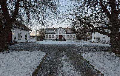 Houzz Tour: Julmys i 1800-talsgården utanför Hjo