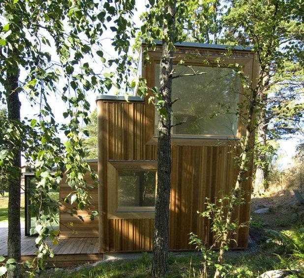 Contemporary Fasad by Schlyter / Gezelius Arkitektkontor AB