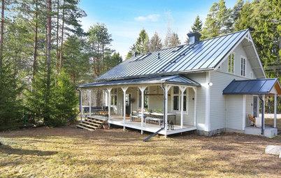 Behutsame Renovierung eines ehemaligen Missionshauses in Schweden