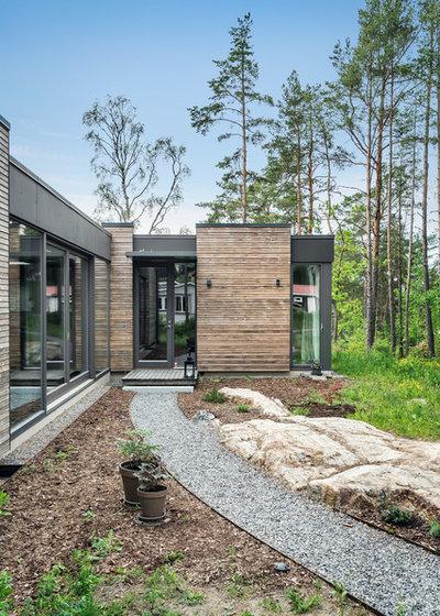 Trendy Hus & facade by DEKÅ Byggrenoveringar AB