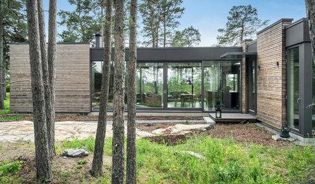 Houzz Швеция: дом для семьи калифорнийского архитектора