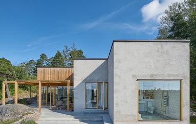 Fantastiske facader: 13 skandinaviske hjem i smuk beton