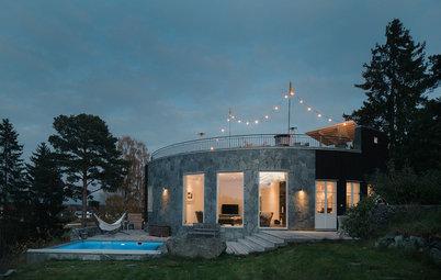 Houzz Tour: Nytänkande lyx hemma hos arkitekt Pål Ross på Ekerö