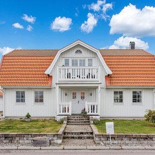 Foto på ett skandinaviskt hus