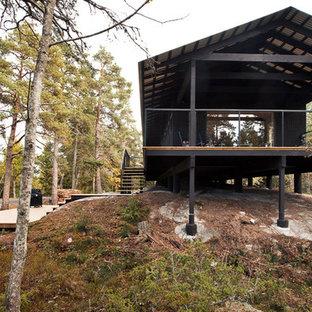 Inspiration för ett skandinaviskt hus
