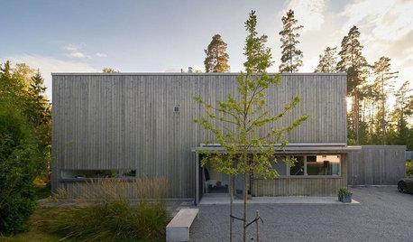 Houzz Швеция: Дом с сауной и видом на лес в Энчепинге