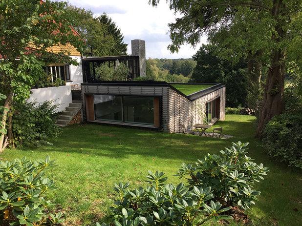 Skandinavisk Hus & facade by Lars Krog Hansen Arkitekt MAA