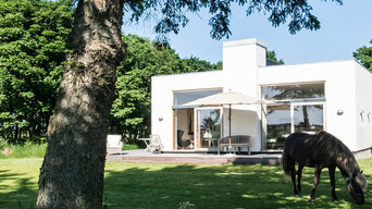 extension of a villa in the countryside