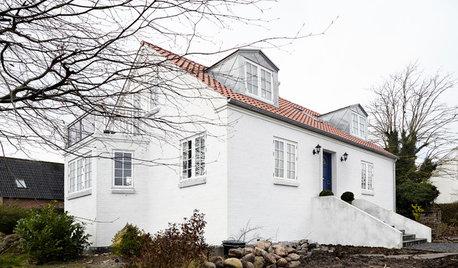 Aarhus Houzz Tour: Bright White Scandi Cool in Denmark