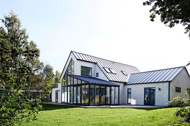 20 tilbygninger i glas viser, at både orangerier, glaskarnapper og glasudestuer er smukke løsninger