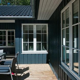 オーデンセのトラディショナルスタイルのおしゃれな家の外観の写真