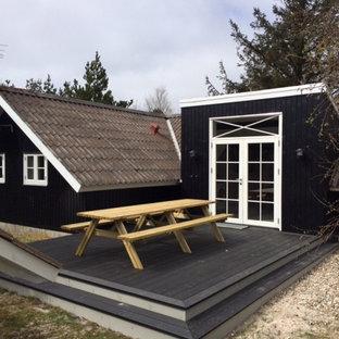 Foto della facciata di una casa scandinava