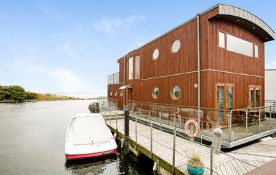 Houzz Tour: Arkitekttegnet husbåd er det perfekte hjem på vandet