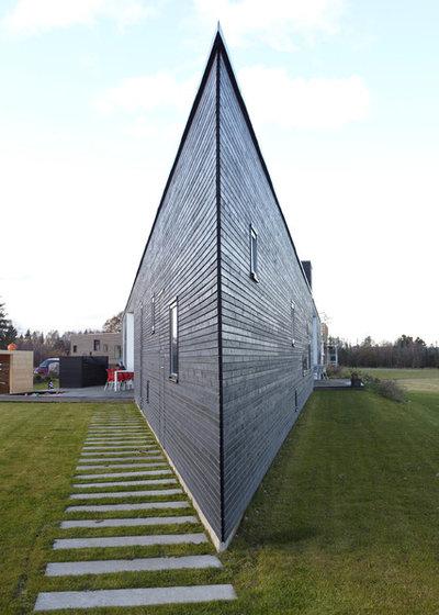 Skandinavisk Hus & facade by Superwood